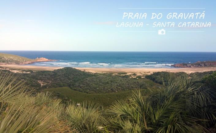 0.0 Viajando em 3... 2... 1... - Praia do Gravatá - Laguna - Praias de Santa Catarina
