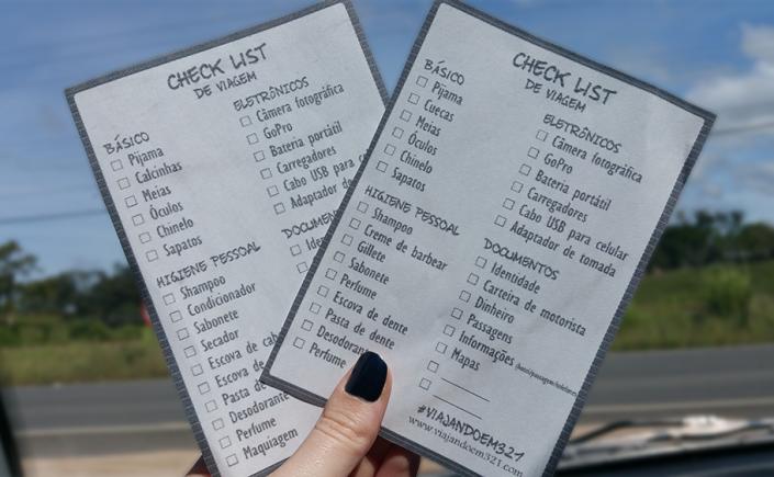 1 - Vaiajando em 3.. 2.. 1.. - check lista de viagem - homem e mulher