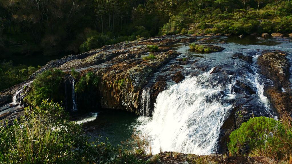 11 - Cachoeira do rio pelotas - viajando em 3.. 2... 1...