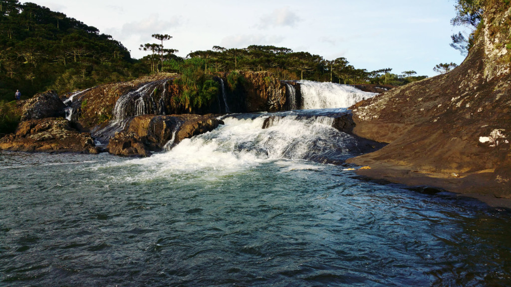 13 - Cachoeira do rio pelotas - viajando em 3.. 2... 1...