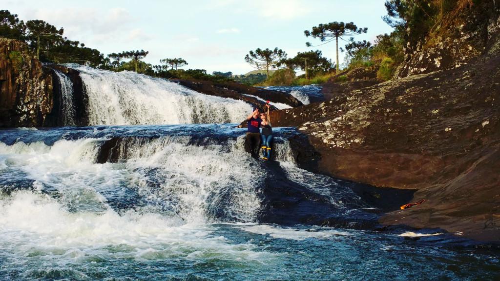 14 - Cachoeira do rio pelotas - viajando em 3.. 2... 1...