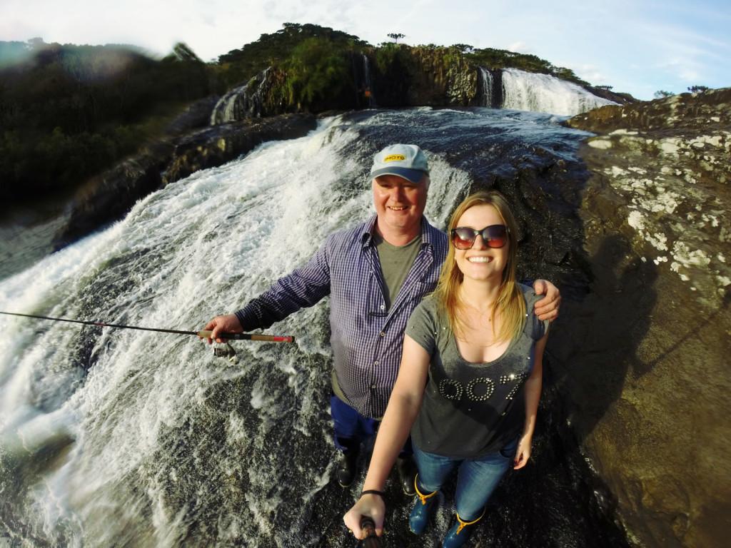 15 - Cachoeira do rio pelotas - viajando em 3.. 2... 1...