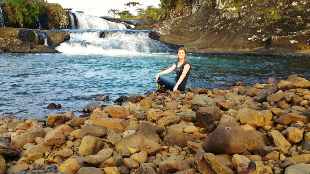 19 - Cachoeira do rio pelotas - viajando em 3.. 2... 1...