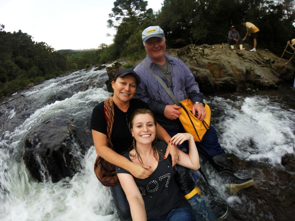 23 - Cachoeira do rio pelotas - viajando em 3.. 2... 1...