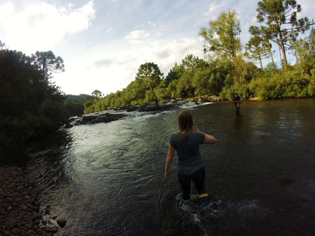 6 - Cachoeira do rio pelotas - viajando em 3.. 2... 1...