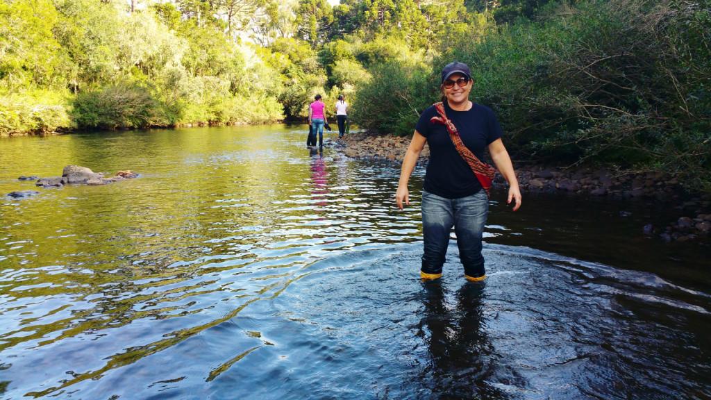 8 - Cachoeira do rio pelotas - viajando em 3.. 2... 1...