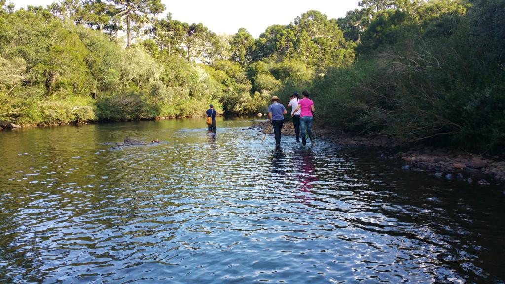 9 - Cachoeira do rio pelotas - viajando em 3.. 2... 1...