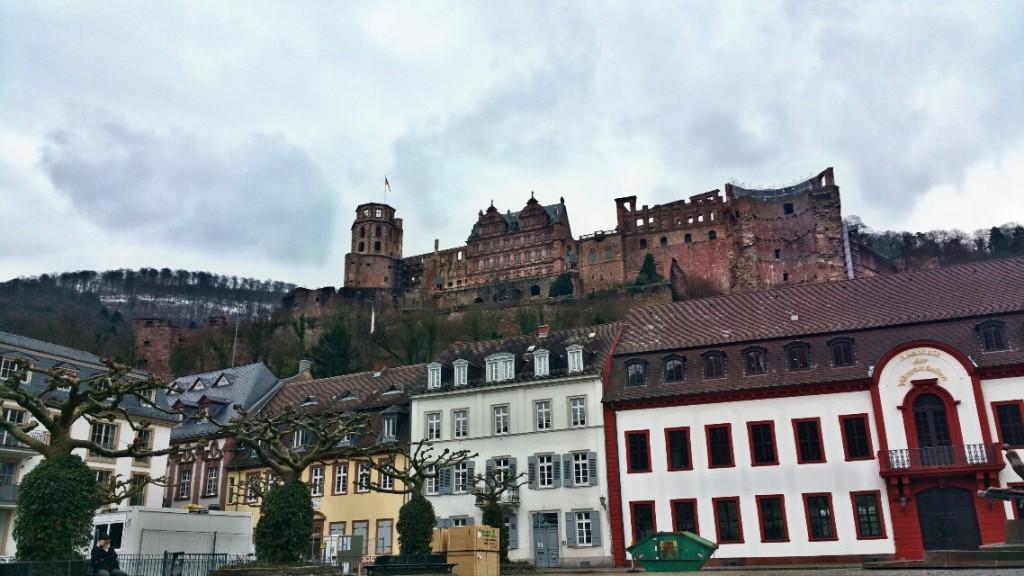 1 - Viajando em 3.. 2.. 1.. - Heidelberg - Alemanha - castelo