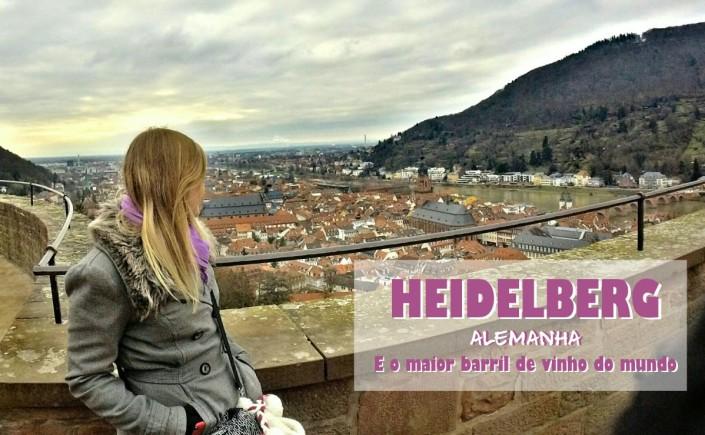 1 - Viajando em 3.. 2.. 1.. - Heidelberg - Alemanha - castelo - capa