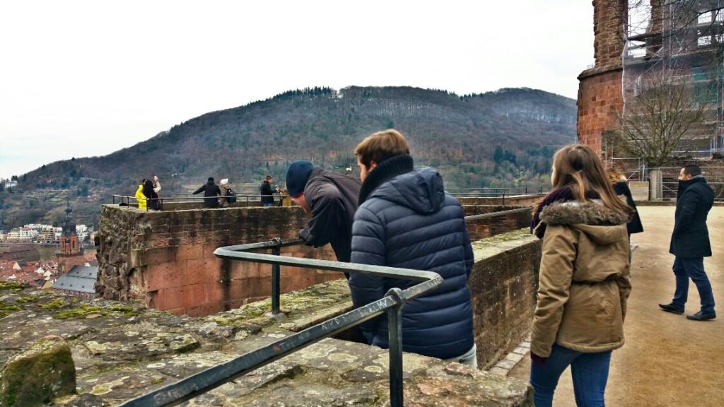 10 - Viajando em 3.. 2.. 1.. - Heidelberg - Alemanha - castelo