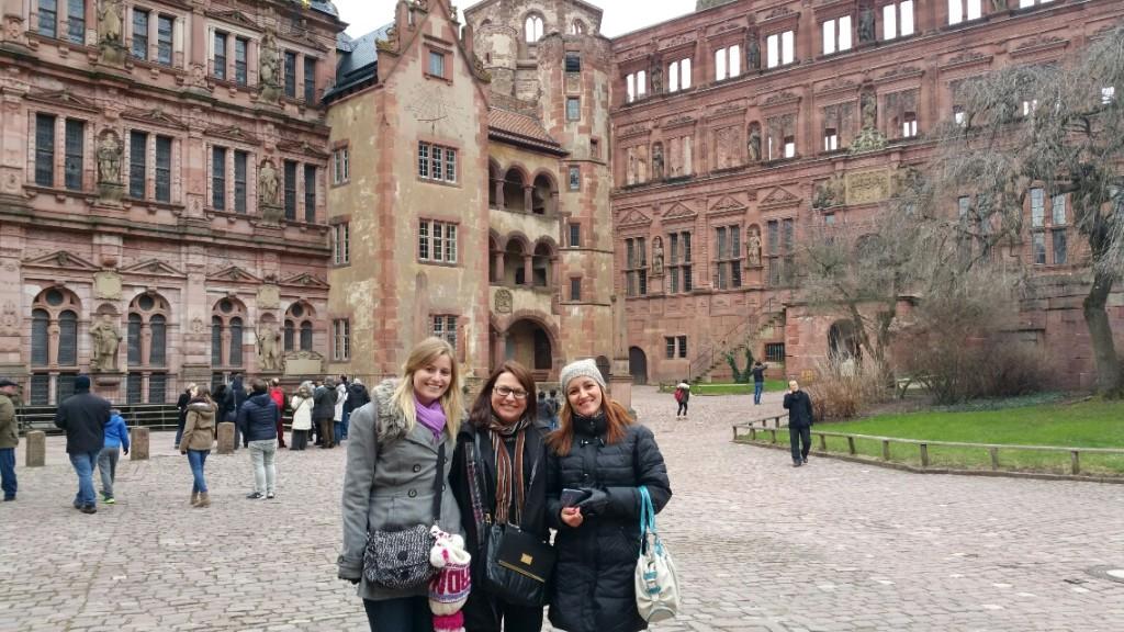 11 - Viajando em 3.. 2.. 1.. - Heidelberg - Alemanha - castelo