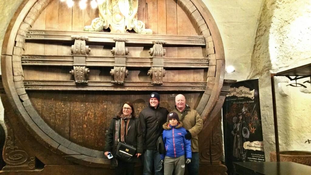 12 - Viajando em 3.. 2.. 1.. - Heidelberg - Alemanha - castelo