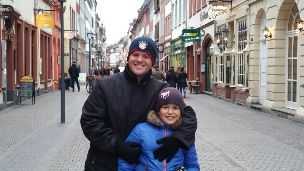 15 - Viajando em 3.. 2.. 1.. - Heidelberg - Alemanha - castelo