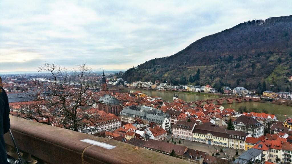 4 - Viajando em 3.. 2.. 1.. - Heidelberg - Alemanha - castelo