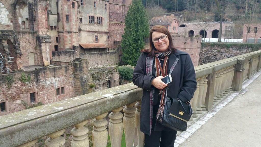 5 - Viajando em 3.. 2.. 1.. - Heidelberg - Alemanha - castelo