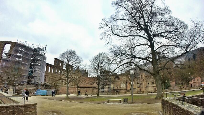 7 - Viajando em 3.. 2.. 1.. - Heidelberg - Alemanha - castelo