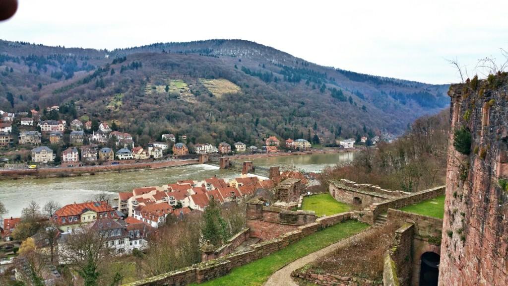 8 - Viajando em 3.. 2.. 1.. - Heidelberg - Alemanha - castelo