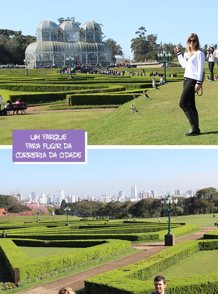 1 Viajando em 3.. 2.. 1.. - Curitiba em dois dias - Jardim botânico