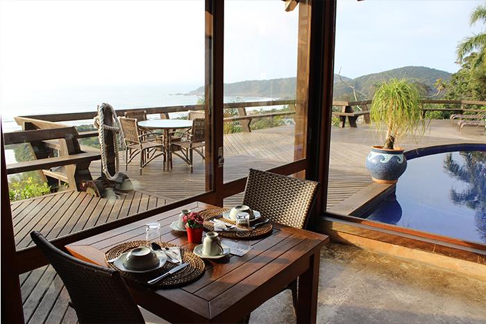 17 - Viajando em 3.. 2.. 1.. - Solar Mirador Exclusive Resort e Spa - Praia do Rosa - Santa Catarina