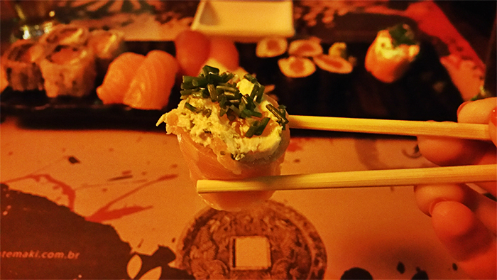 5 - Viajando em 3.. 2.. 1.. - Goen Temaki Lounge - Praia do Rosa - Sushi