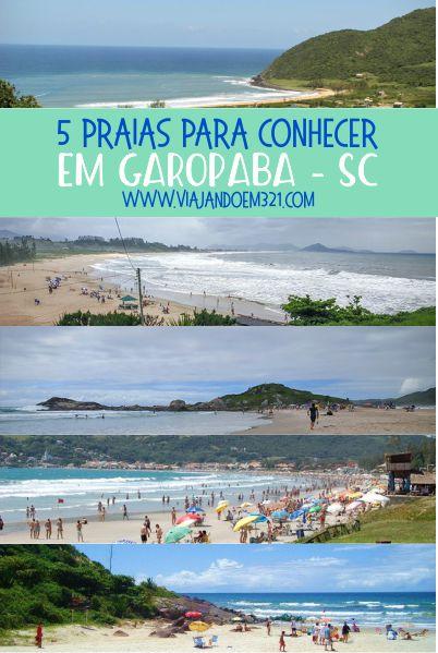 10 Praias em Garopaba - Viajandoem321